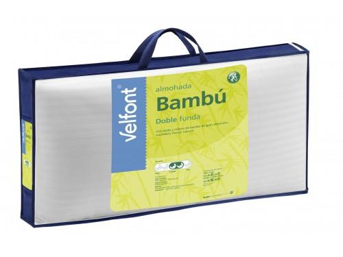 Almohada Velfont Doble Funda BAMBU
