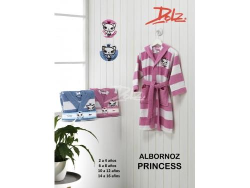 Albornoz Infantil Bordado PRINCESS