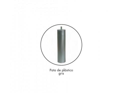 Juego 2 Patas Plástico Gris