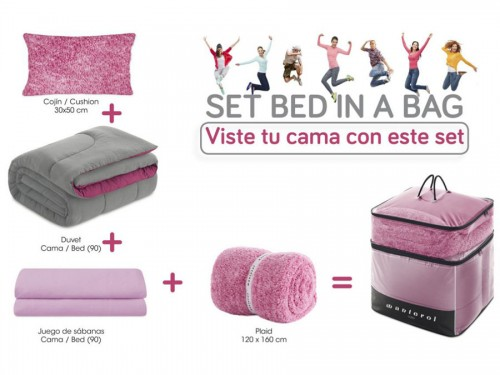 Set de cama juvenil BED IN BAG