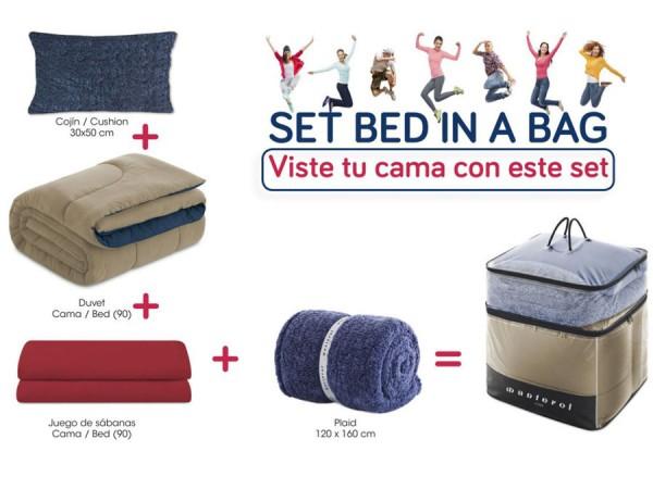 Set de cama juvenil BED IN BAG