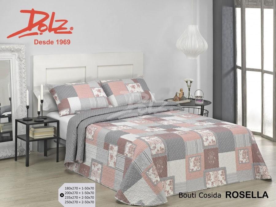 Colcha Bouti Premium Dolz ROSELLA Textildelhogar.es