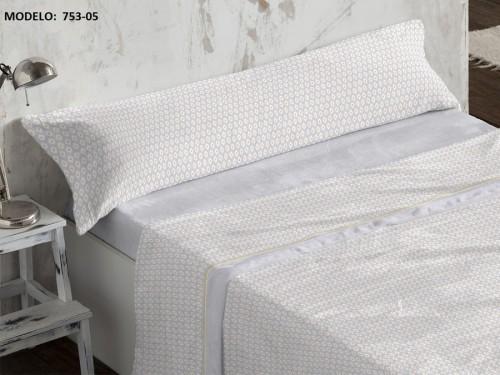Juego de sábanas Coralina Burrito Blanco 753
