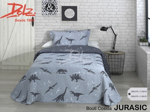Colcha Bouti Premium Dolz JURASIC