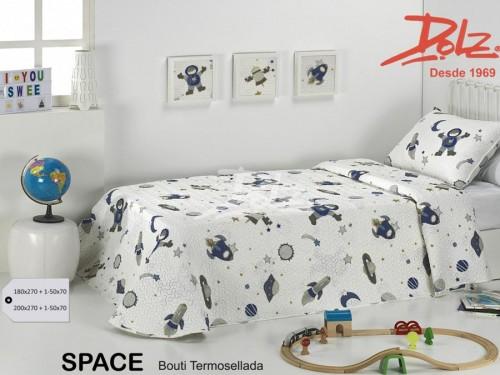 Colcha Bouti Infantil Ligera Dolz SPACE