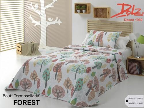 Colcha Bouti Infantil Ligera Dolz FOREST