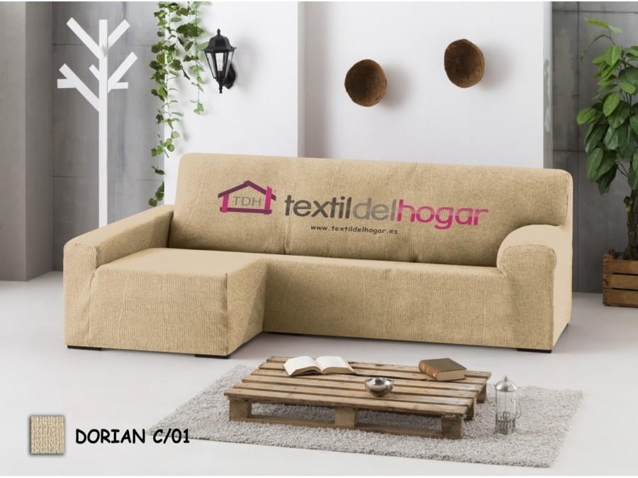 Funda chaise longue bielastica dorian fundas de sofa textidelhogar - Fundas de chaise longue ...
