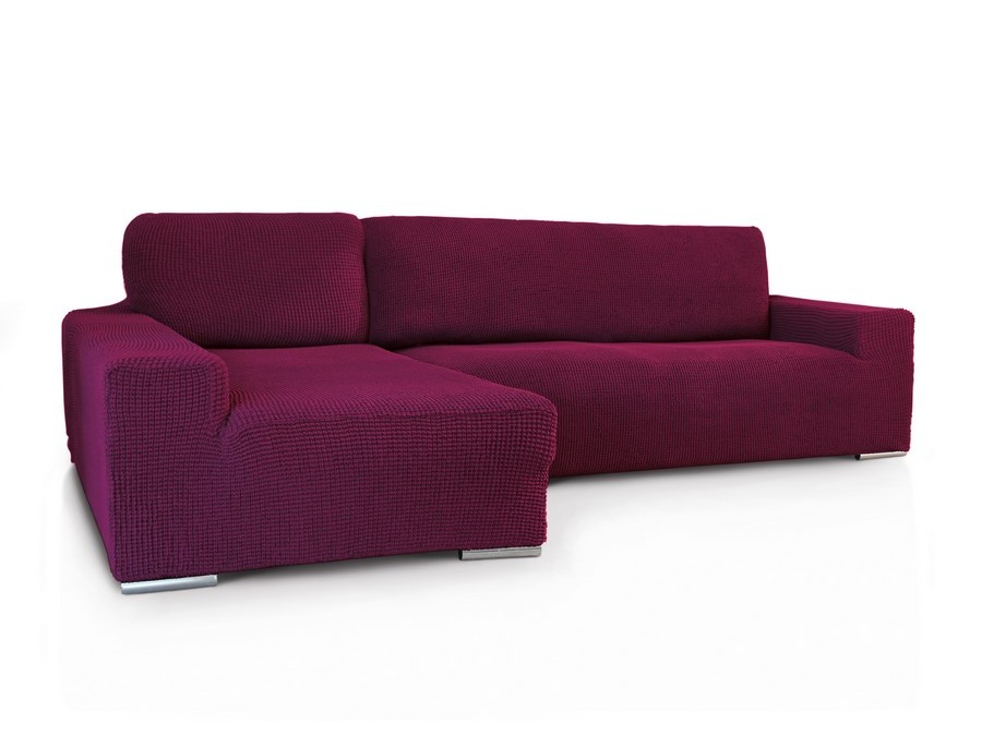 Funda chaiselongue superelastica glamour - Funda de sofa chaise longue ...