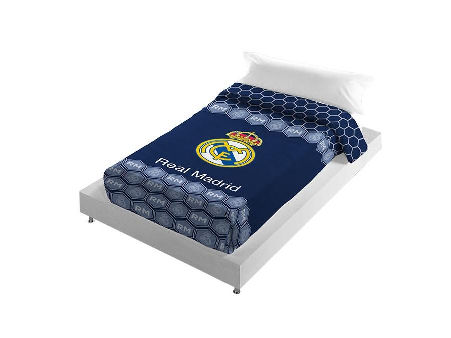 Cojin Edredon Real Madrid.Manta Vip Estadio 258 Real Madrid