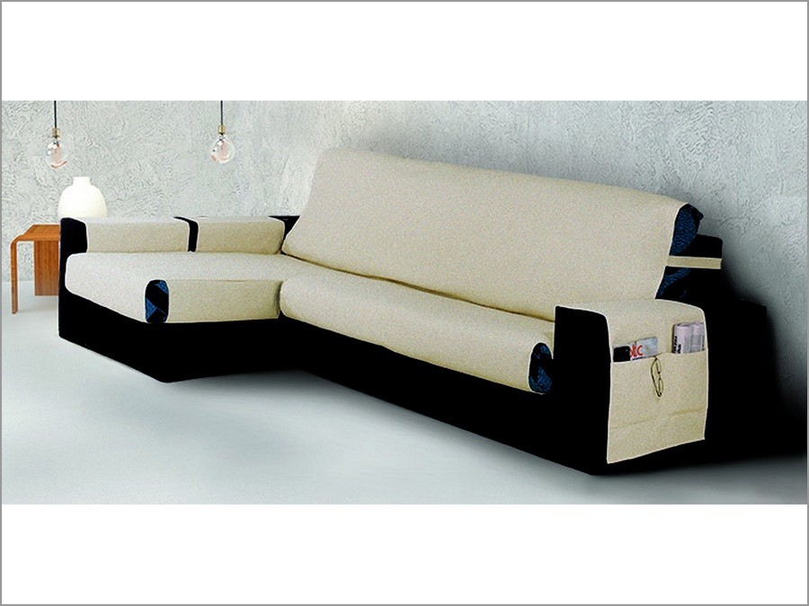 Funda cubre sofa chaise longue belmarti banes - Fundas chaise longue ...