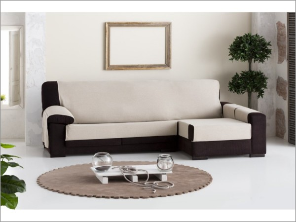Funda sof chaise longue pr ctica constanza eysa - Funda sofa chaise longue ...