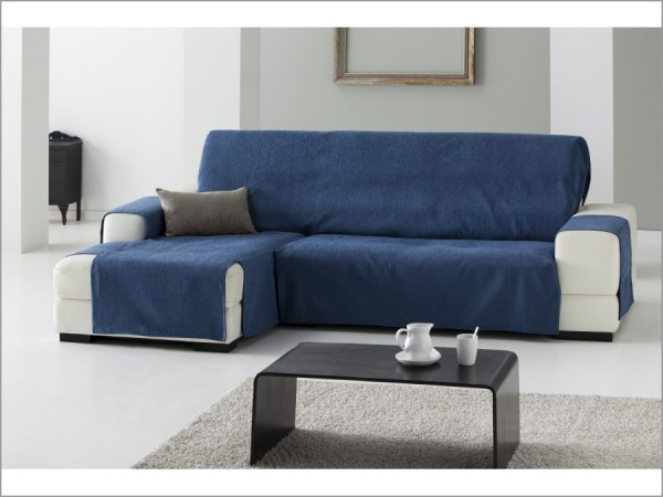 Funda sof pr ctica chaise longue zoco - Funda sofa chaise longue ...