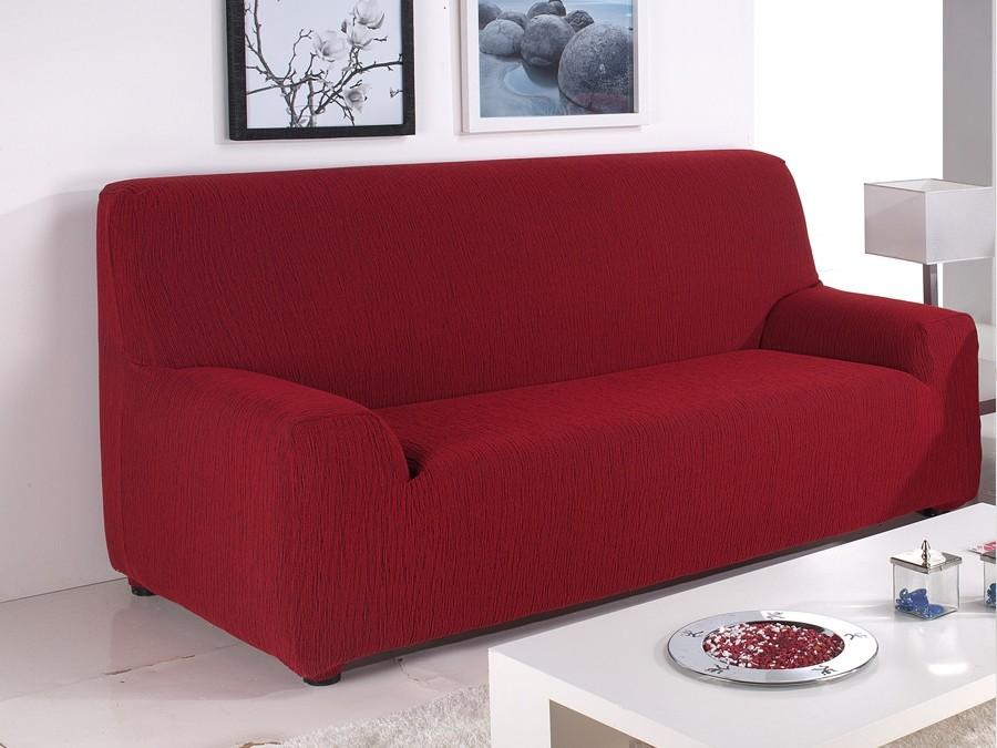 Funda sof el stica nueva textura emilia - Fundas sofas ajustables ...