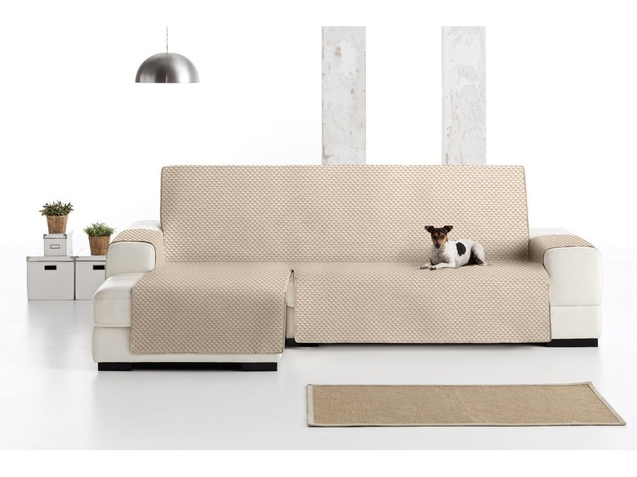 Funda sof chaise longue pr ctica oslo eysa - Funda sofa chaise longue ...