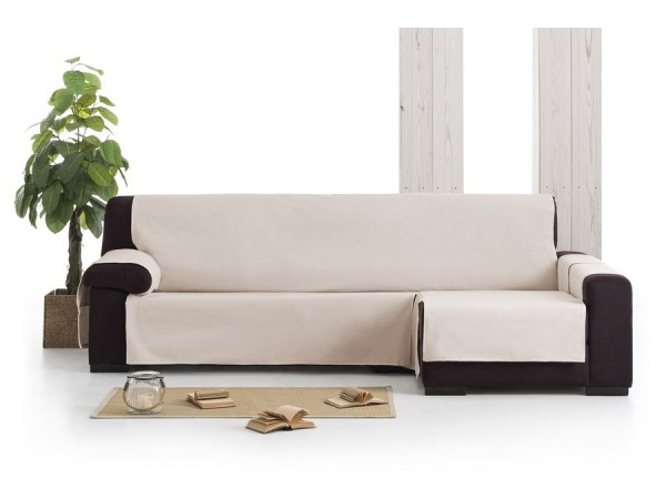Funda sof chaise longue impermeable garona eysa - Funda sofa chaise longue ...
