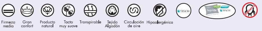 CARACTERISTICAS ALMOHADA CUNA MASH